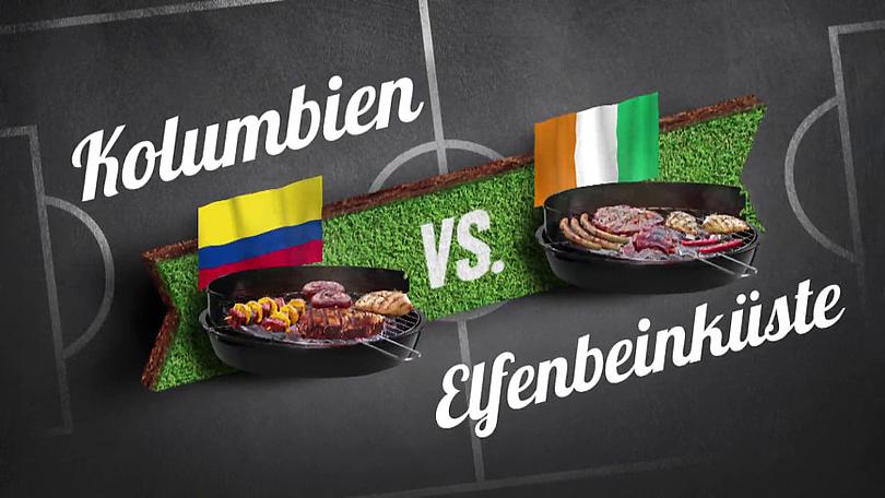 """Reiner Calmund - EDEKA – Bauchentscheidungsvideos - Vorrunde """"Kolumbien vs. Elfenbeinküste"""""""
