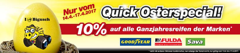 """Harry Wijnvoord – Quick Reifendiscount – """"Quick Osterspecial!"""""""