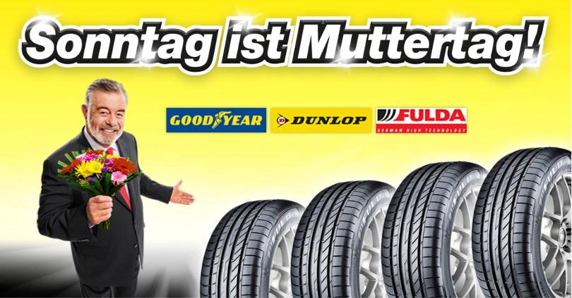 "Harry Wijnvoord – Quick Reifendiscount – ""Sonntag ist Muttertag!"""