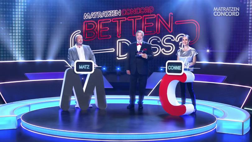 "Harry Wijnvoord – Matratzen Concord – ""Betten dass?"" - TV-Spot Boxspring"