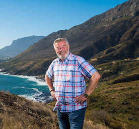 Harry Wijnvoord am Chapman's Peak