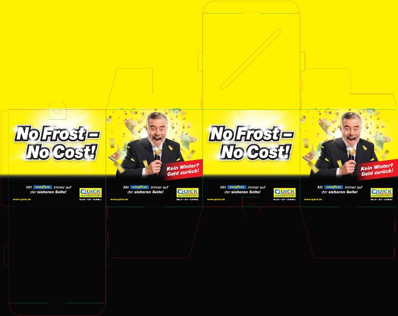 """Harry Wijnvoord – Quick Reifendiscount – """"No Frost – No Cost!"""" – Losbox"""