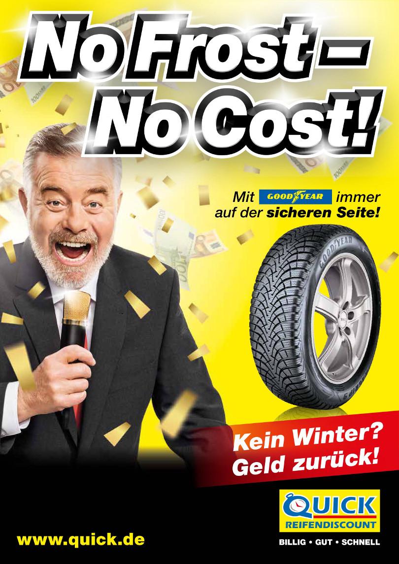 """Harry Wijnvoord – Quick Reifendiscount – """"No Frost – No Cost!"""" – Winter 2016 online Version"""