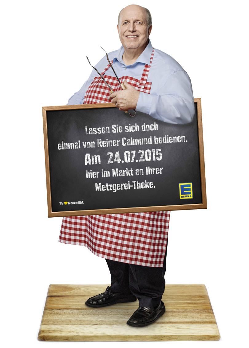 """Reiner Calmund - EDEKA – Werbeaktion """"Calli kommt!"""""""
