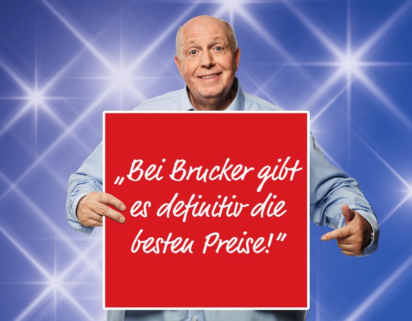 """Reiner Calmund – Möbel Brucker – """"Gigaprint - Beste Preise"""""""
