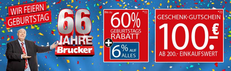 """Reiner Calmund – Möbel Brucker – """"Geburtstagsrabatt"""""""