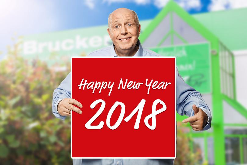 """Reiner Calmund – Möbel Brucker – """"Happy New Year"""""""