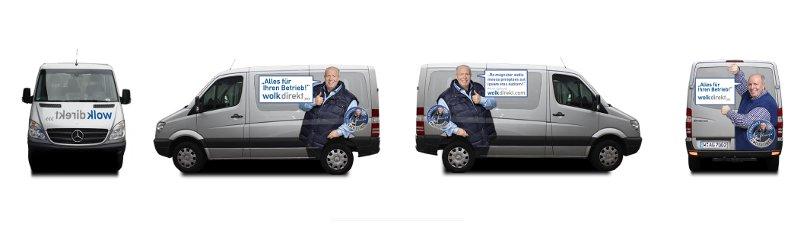 Reiner Calmund - WOLK GRUPPE AG Autowerbung