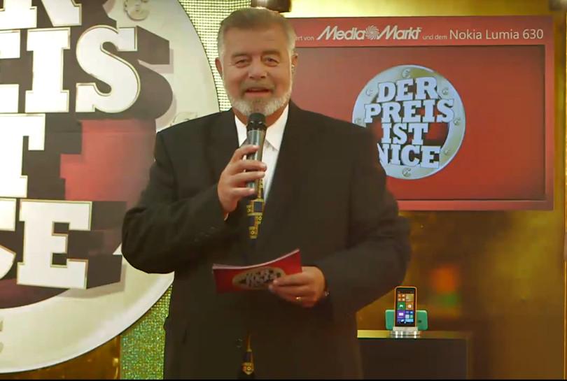 """Harry Wijnvoord - NOKIA LUMIA 630 - Live Gameshow """"Der Preis ist nice"""" bei """"Mediamarkt"""" - 1. Teil"""